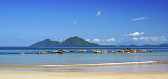 Dunk Island from Mission Beach