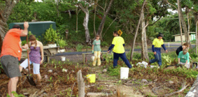 local volunteers for revegetation projects